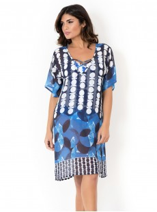 Kaftan - Optical Navy - Miradonna