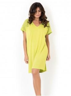 Maxi T-shirt - Jaune citron - Mirachic - Miradonna