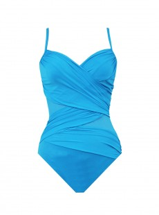 "Maillot de bain gainant Mystify Turquoise - ""M"" - Miraclesuit"