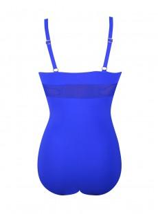 Maillot de bain sculptant 1 pièce Dafne - Bleu - Mirachic - Miradonna