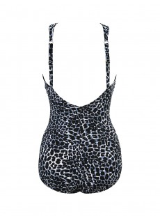 "Maillot de bain gainant Glitz - Luxe Leopard - ""M"" - Miraclesuit swimwear"