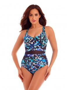 "Maillot de bain gainant It's a Cinch - Seaglass - ""M"" - Miraclesuit swimwear"