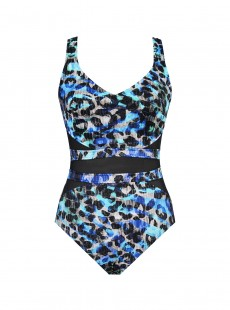 "Maillot de bain gainant It's a Cinch - Seaglass - ""M"" - Miraclesuit swimwear"