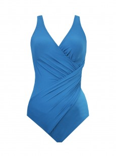 "Maillot de bain gainant Oceanus Bleu Canard - Must Haves - ""M"" - Miraclesuit swimwear"