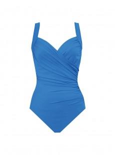 "Maillot de bain gainant Sanibel Bleu - Les Unis - ""M"" - Miraclesuit swimwear"