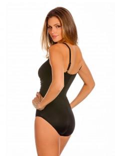 """Maillot de bain gainant Rivage Noir - Les Unis - """"M"""" - Miraclesuit swimwear"""