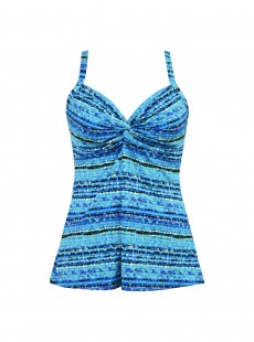 "Roswell Tankini Top - Night Lights - ""M"" - Miraclesuit swimwear"