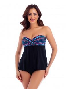 """Cadiz Tankini - Caravan -  """"M"""" - Miraclesuit swimwear"""