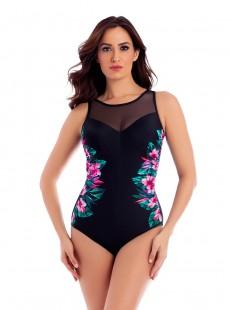 "Maillot de bain gainant Fascination - Tahitian Temptress - ""M"" - Miraclesuit swimwear"