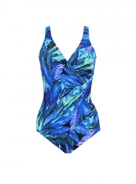 "Maillot de bain gainant Oceanus - Flamenco - ""M"" - Miraclesuit swimwear"