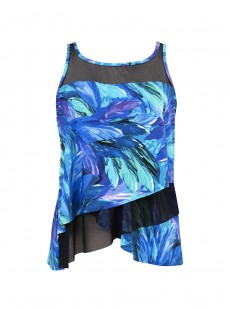 "Mirage Tankini Top - Flamenco - ""M"" - Miraclesuit swimwear"
