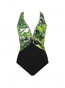 "Maillot de bain gainant Elan - Splendor In Seagrass - ""M"" - Miraclesuit swimwear"