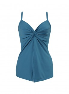 "Love Knot Bleu Canard - The Four Tops - ""M"" - Miraclesuit swimwear"