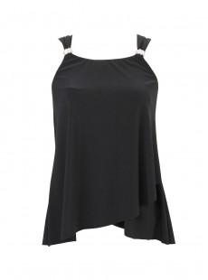 "Dazzle Tankini Top Noir - The Four Tops - ""M"" - Miraclesuit swimwear"