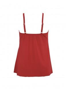 "Marina Tankini Rouge - Solid Citizens - ""M"" - Miraclesuit swimwear"