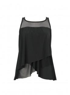 "Tankini Mirage Noir - Network - ""M"" - Miraclesuit swimwear"