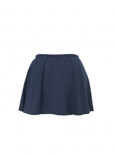 "Jupe plissée Bleu Marine - ""W""- Miraclesuit swimwear"