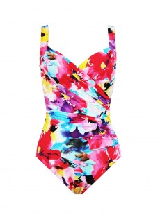 "Maillot de bain gainant Sanibel Lovely Lady - Grandes tailles ""W"" - Miraclesuit"