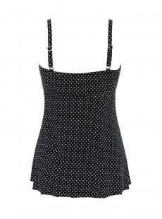 "Roswell Tankini Top - Pin Point - ""M"" - Miraclesuit swimwear"