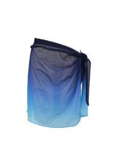 "Pareo Tie Side Sarong Dip Dye - ""M"" - Miraclesuit"