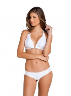 Haut de maillot de bain triangle Blanc - Cosita Buena - Luli Fama