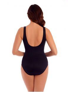 """Maillot de bain gainant Revele Noir - Les Unis - """"FC"""" - Miraclesuit swimwear"""