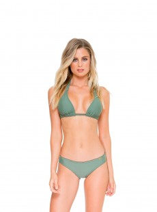 Haut de maillot de bain triangle Armed and ready- Cosita Buena - Luli Fama