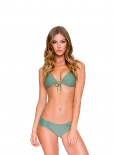Haut de maillot de bain bandeau push-up Army and ready - Cosita Buena - Luli Fama