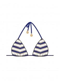 Haut de maillot de bain Triangle Bikini Marino - El Malecon - Luli Fama