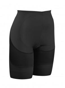 Panty gainant taille mi-haute Rear Lift & Thigh Control Noir - Miraclesuit Shapewear
