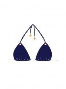 Haut de maillot de bain Triangle Bikini Marino - Mambo - Luli Fama