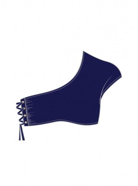 Haut de maillot de bain Asymétrique Marino - Mambo - Luli Fama