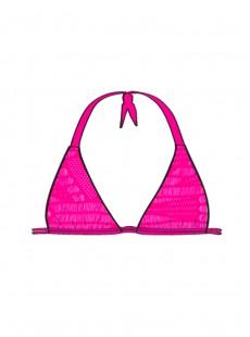 Haut de maillot de bain Triangle Fuchsia - El Carnaval - Luli Fama