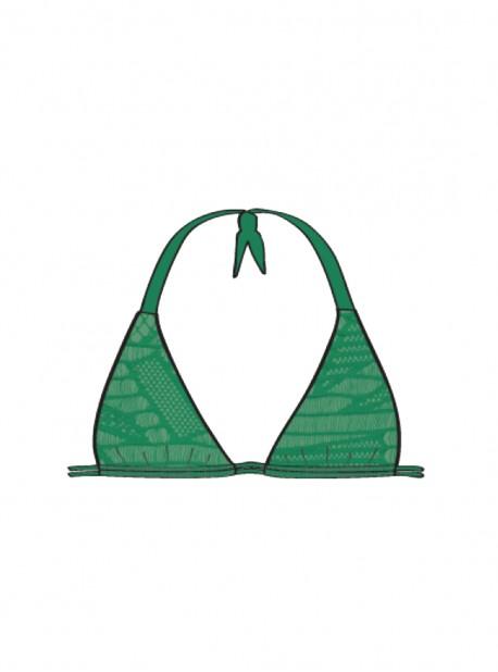 Haut de maillot de bain Triangle Palma - El Carnaval - Luli Fama
