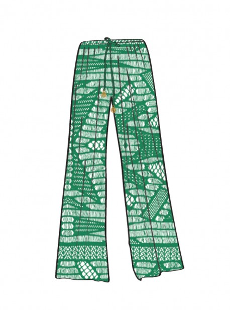 Pantalon Fluide palma - El Carnaval - Luli Fama