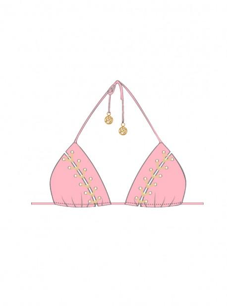 Haut de maillot de bain Triangle Bikini Nina- La Corredera - Luli Fama