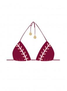 Haut de maillot de bain Triangle Bikini Vino- La Corredera - Luli Fama