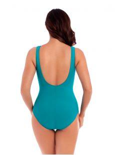 """Maillot de bain gainant Escape Bleu Clair -Les Unis - """"M"""" - Miraclesuit swimwear"""