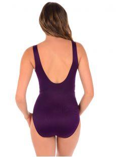 "Maillot de bain gainant Revele Prune - Les Unis - ""M"" - Miraclesuit swimwear"