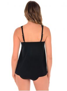 "Charm Tankini Noir - The Four Tops - ""M"" - Miraclesuit swimwear"