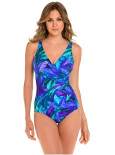 "Maillot de bain gainant Oceanus - Flamenco - ""W"" - Miraclesuit swimwear"