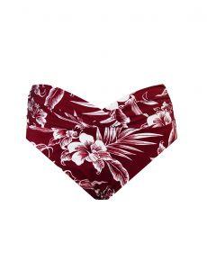 "Culotte V-kini - Hibiskiss - ""M"" - Miraclesuit swimwear"