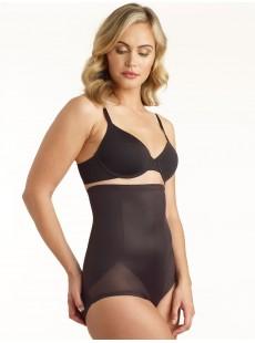 Culotte gainante taille haute noire - Cooling - Miraclesuit Shapewear