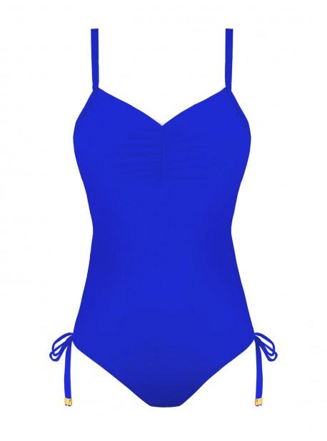 Maillot de bain sculptant 1 pièce Mirabasic Venus - Bleu - Miradonna