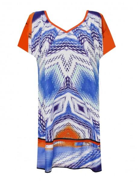 Maxi T-shirt - Beach Tribe - Miradonna