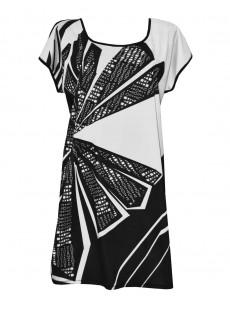 Maxi T-shirt - City Shore - Miradonna