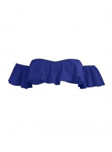 Haut de maillot de bain bandeau épaules dénudées Bleu - Color Mix - Phax