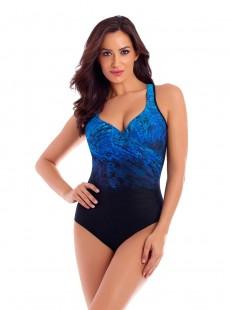 "Maillot de bain gainant It's a Wrap  - Mediterra - ""W"" - Miraclesuit swimwear"