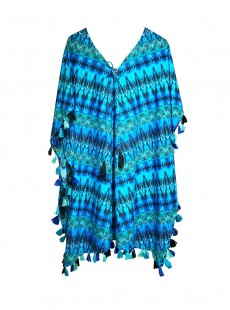 "Caftan - Cabana chic - ""M"" - Miraclesuit Swimwear"