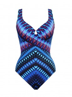 "Maillot de bain gainant Escape Criss Cross - Marrakech - ""M"" - Miraclesuit Swimwear"